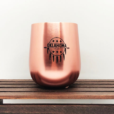 Oklahoma Copper Mug