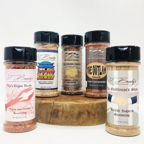 Seasonings - J. Brady
