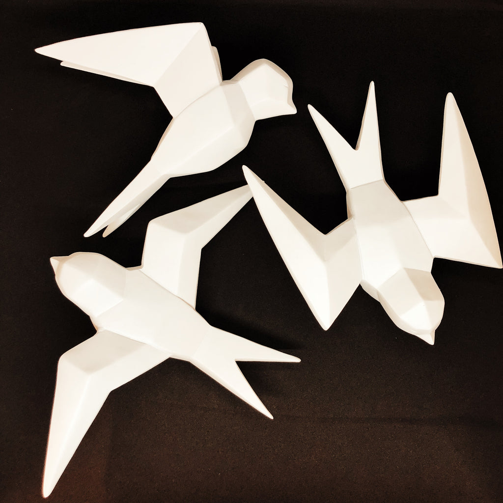 Origami Birds (Set of 3)