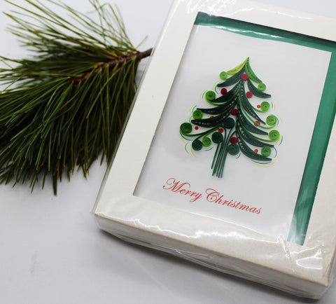 Quilling Card Christmas Card Box Set