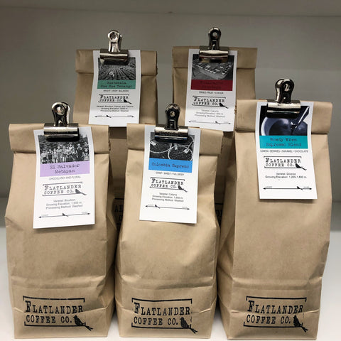 Flatlander Coffees - Whole Bean Only