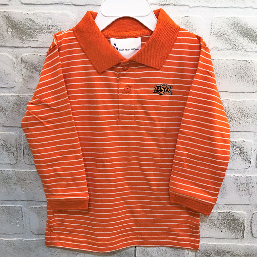 OSU Long Sleeve Golf Shirt - Toddler - (3T Size ONLY)