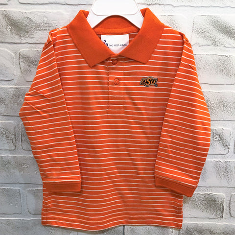 OSU Long Sleeve Golf Shirt - Toddler
