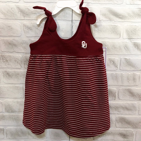 OU Striped Sundress/Jumper - Toddler