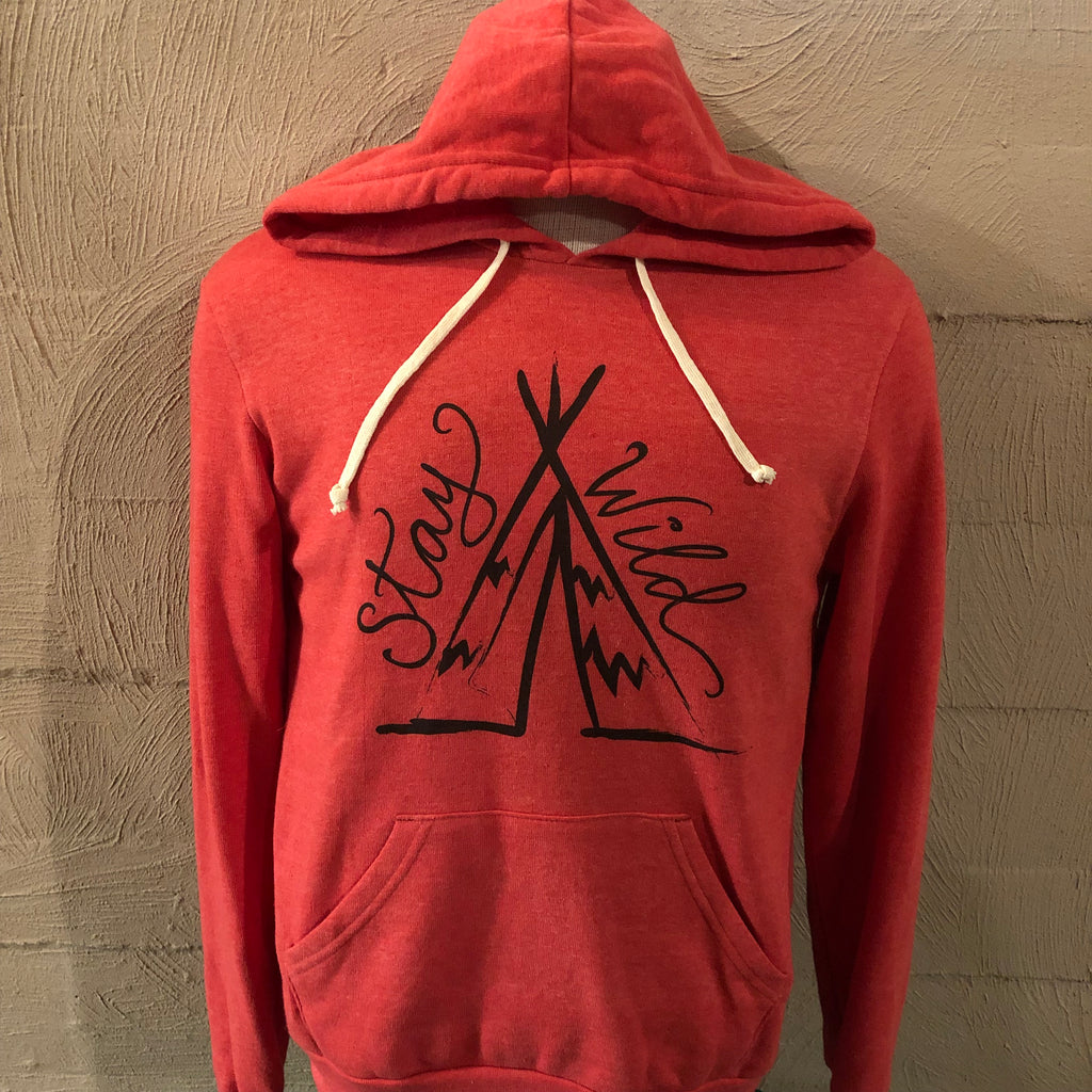 Stay Wild Hoodie (M, 2X)
