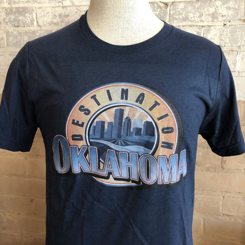 Destination Oklahoma T-Shirt (S, L Sizes ONLY)