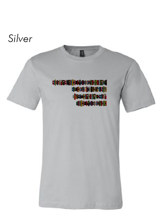 BOOKlahoma T-Shirt - Silver