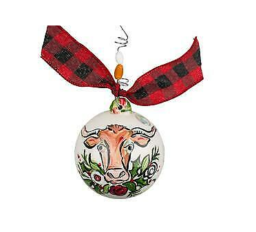 "Glory Haus ""Longhorn"" Ball Ornament"