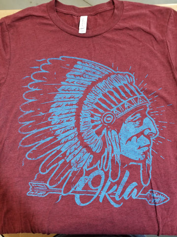 Harvey Nicole - Maroon Chief T-Shirt