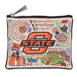 Cat Studio Collegiate Zippered Pouch