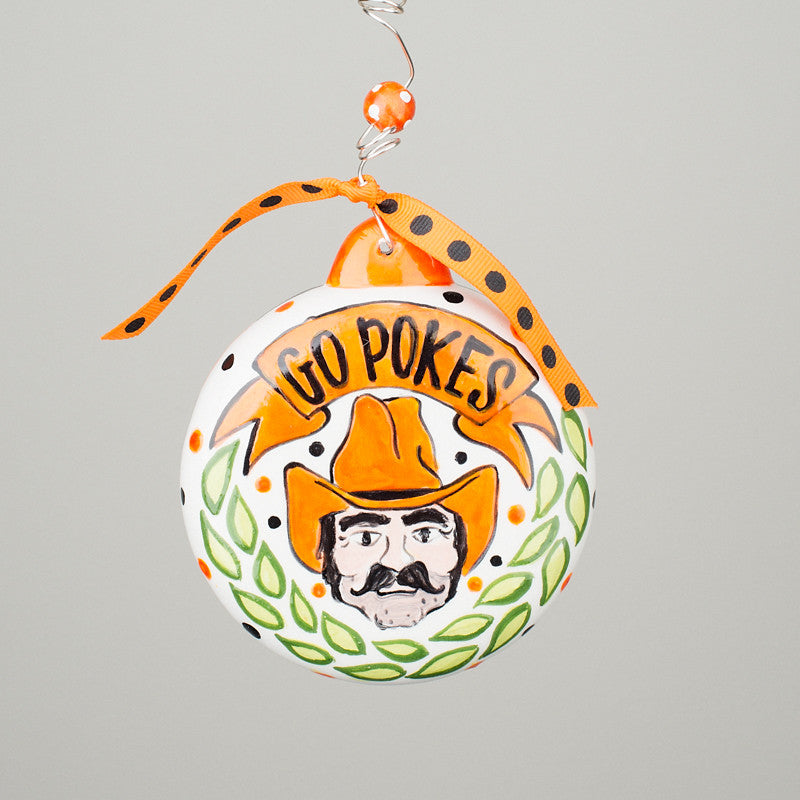 OSU Puff Ornament