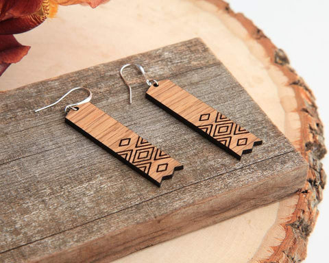 Moku Dangle Earrings