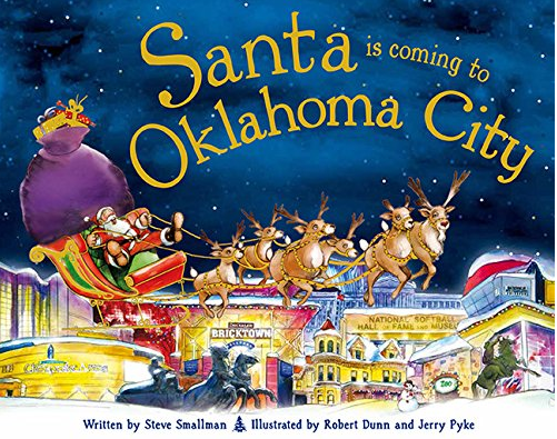 Santa is Coming to Oklahoma City (Hardcover)
