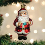 "Old World Christmas ""Santa Revealed"" Glass Ornament - PRE-ORDER"