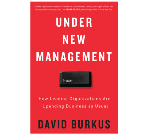 Under New Management by David Burkus (Paperback / Signed by Author)