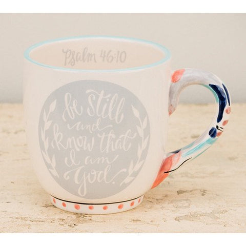 "Glory Haus ""Be Still, Know God"" Jumbo Mug"
