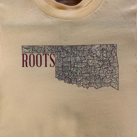 Kids Oklahoma Roots T-Shirt (Youth S, M, L, XL)