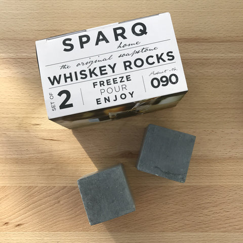 Sparq Whiskey Rocks, Set of 2