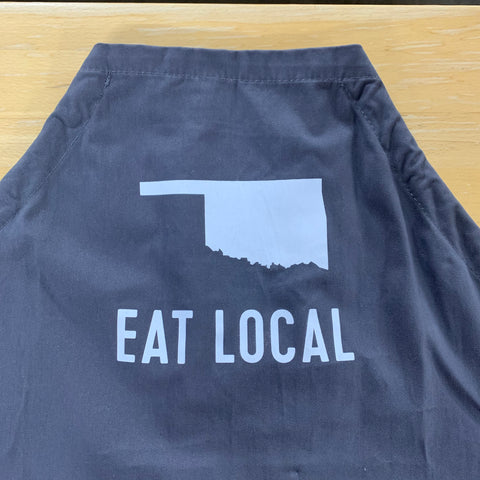 "State of Mine ""Eat Local"" Oklahoma Apron"