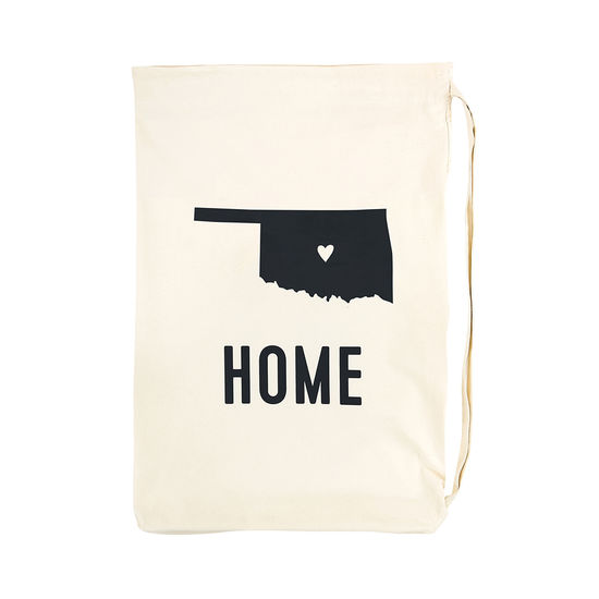 "State of Mine ""Home"" Oklahoma Laundry Bag"