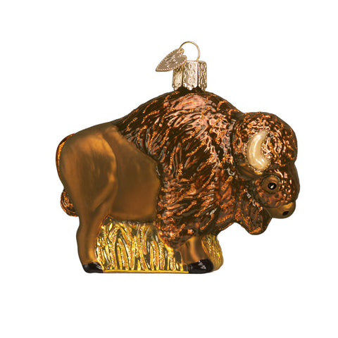 "Old World Christmas ""Buffalo"" Glass Ornament"