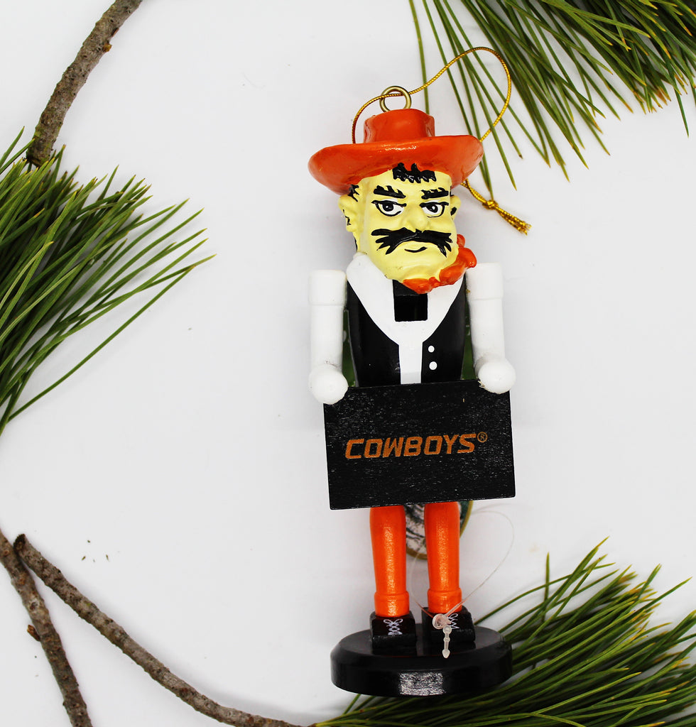 "6"" Nutcracker Ornament - OU or OSU"