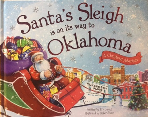 Santa's Sleigh is on its Way to Oklahoma (Hardcover)