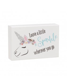 Leave a Little Sparkle Wherever You Go Sign