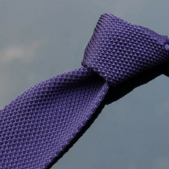 Knitted Slim Necktie - 19 colors