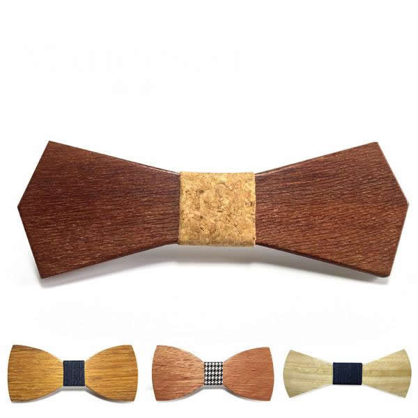 Wooden Butterfly Bow Tie - 18 Styles