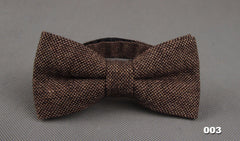 Wool Men's Bow Ties- 12 Styles to Choose from