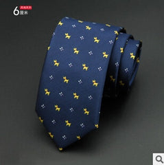 Mens Ties,  6cm, Man Fashion, Dot Neckties, Business,  GUSLESON 1200 Needles, Corbatas Gravata Jacquard Slim Tie Business