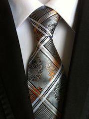 100% Silk Luxury Neckties - Choose from 19 Colors and Styles