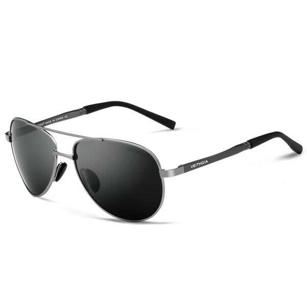 Aviator Polarized Sunglasses - 4 Colors