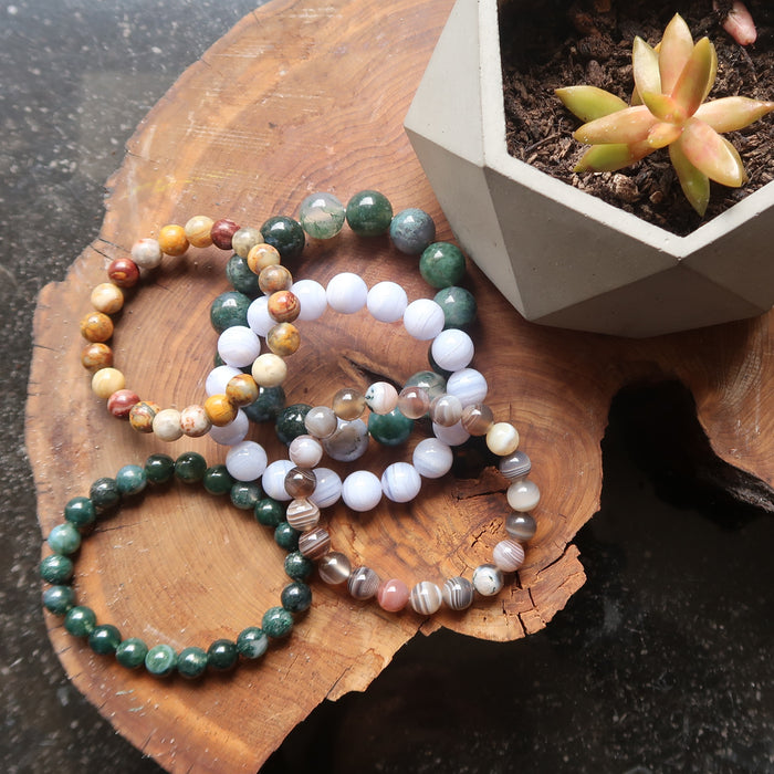 Agate Bracelet Collection