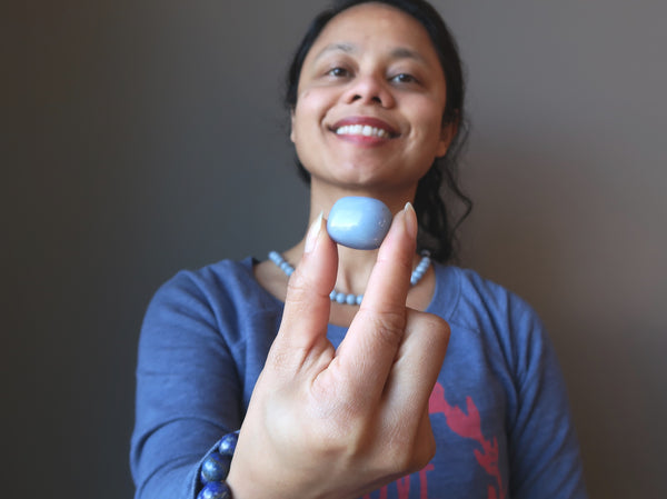Healing Stones that Opened my Throat Chakra