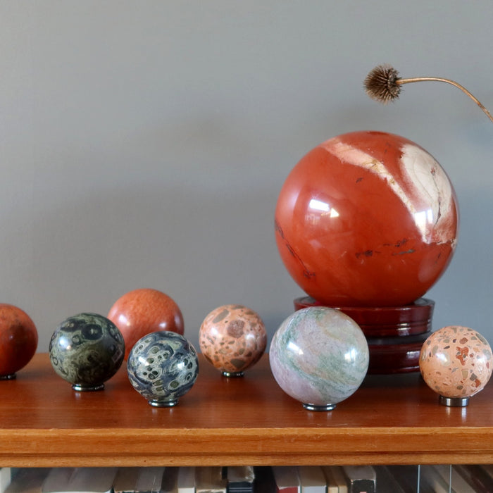 Your Top 7 Jolly Jasper Crystal Balls