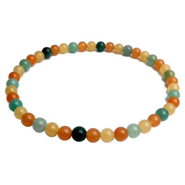 Aventurine Anklets  - Satin Crystals Blog - 11 Jewels to Color Your Outfits