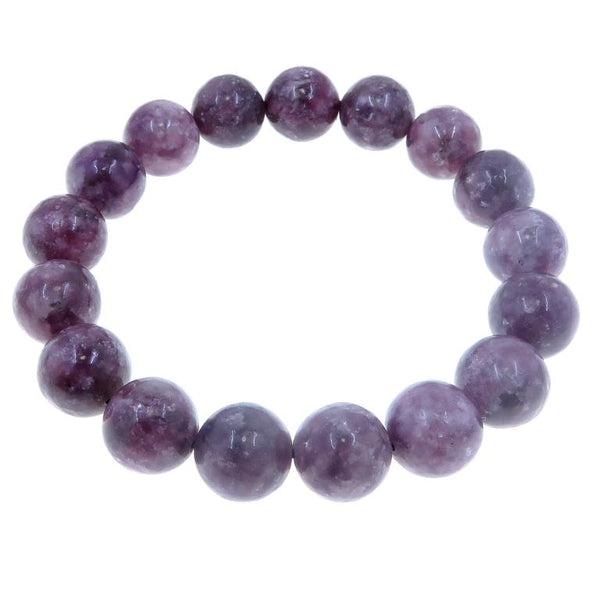 Lepidolite Bracelets - Satin Crystals Blog - 11 Jewels to Color Your Outfits