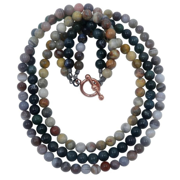 Shop Agate Medley Necklaces - Satin Crystals - 11 Jewels to Color Your Outfits