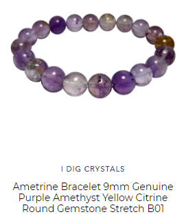 ametrine amethyst bracelet for healing by satin crystals for sale online