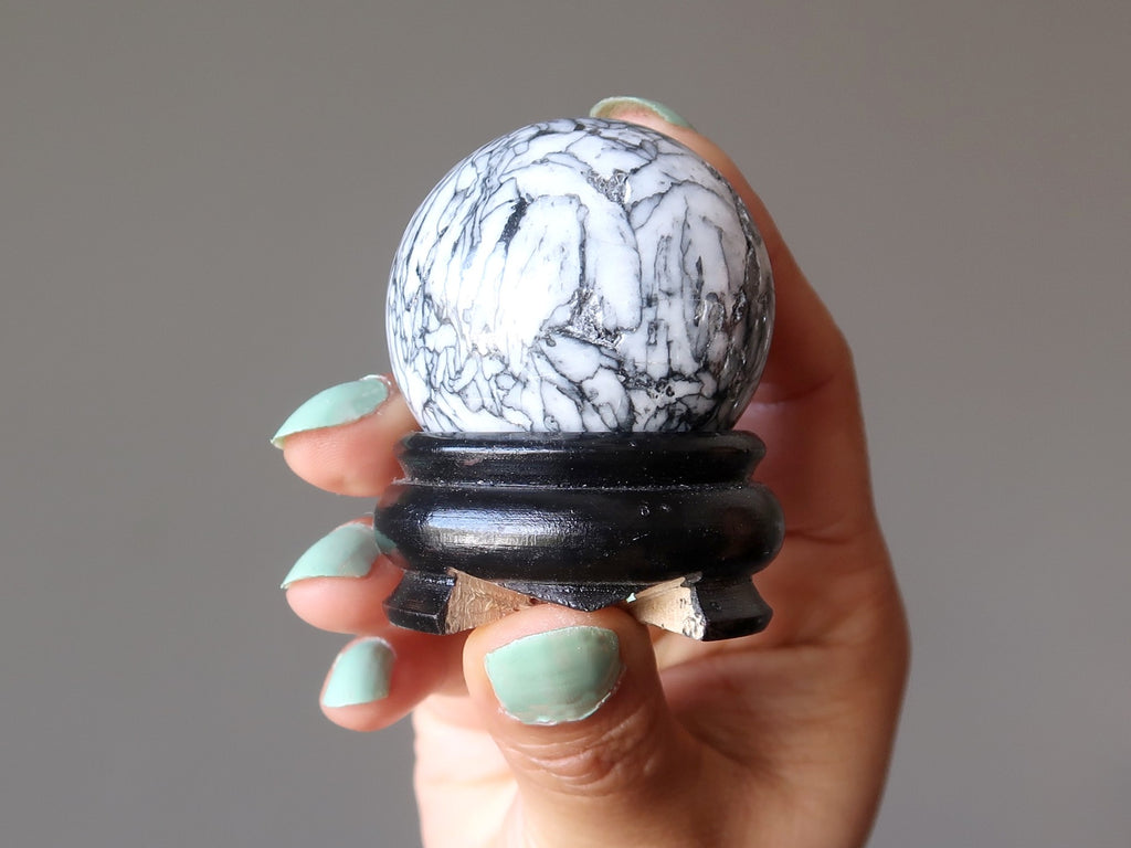 crystal healing sphere for feng shui