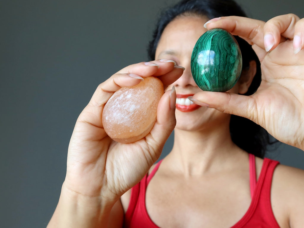crystal easter eggs for a healing holiday