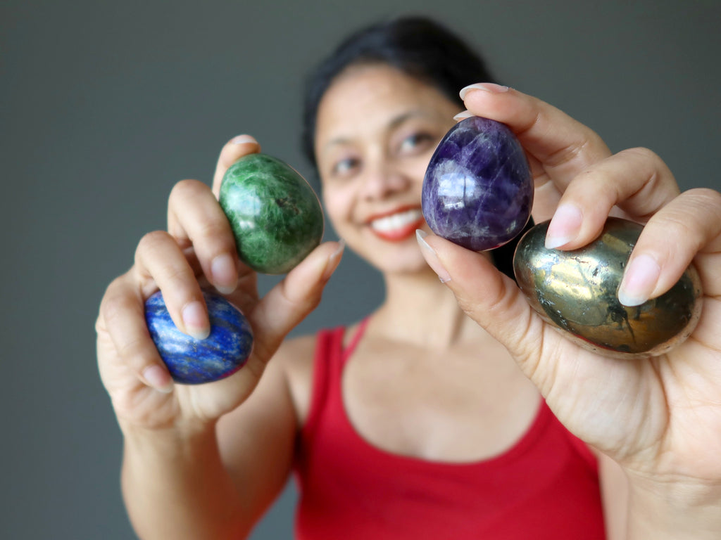 gemstone eggs for easter meanings