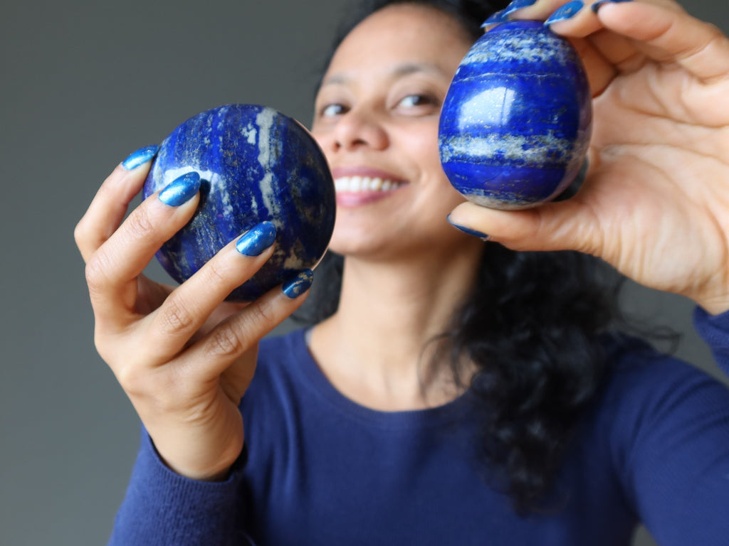 lapis sphere and egg for serenity in the storm