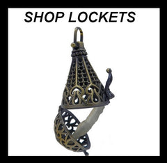 SHOP CAGE AND LOCKET PENDANTS