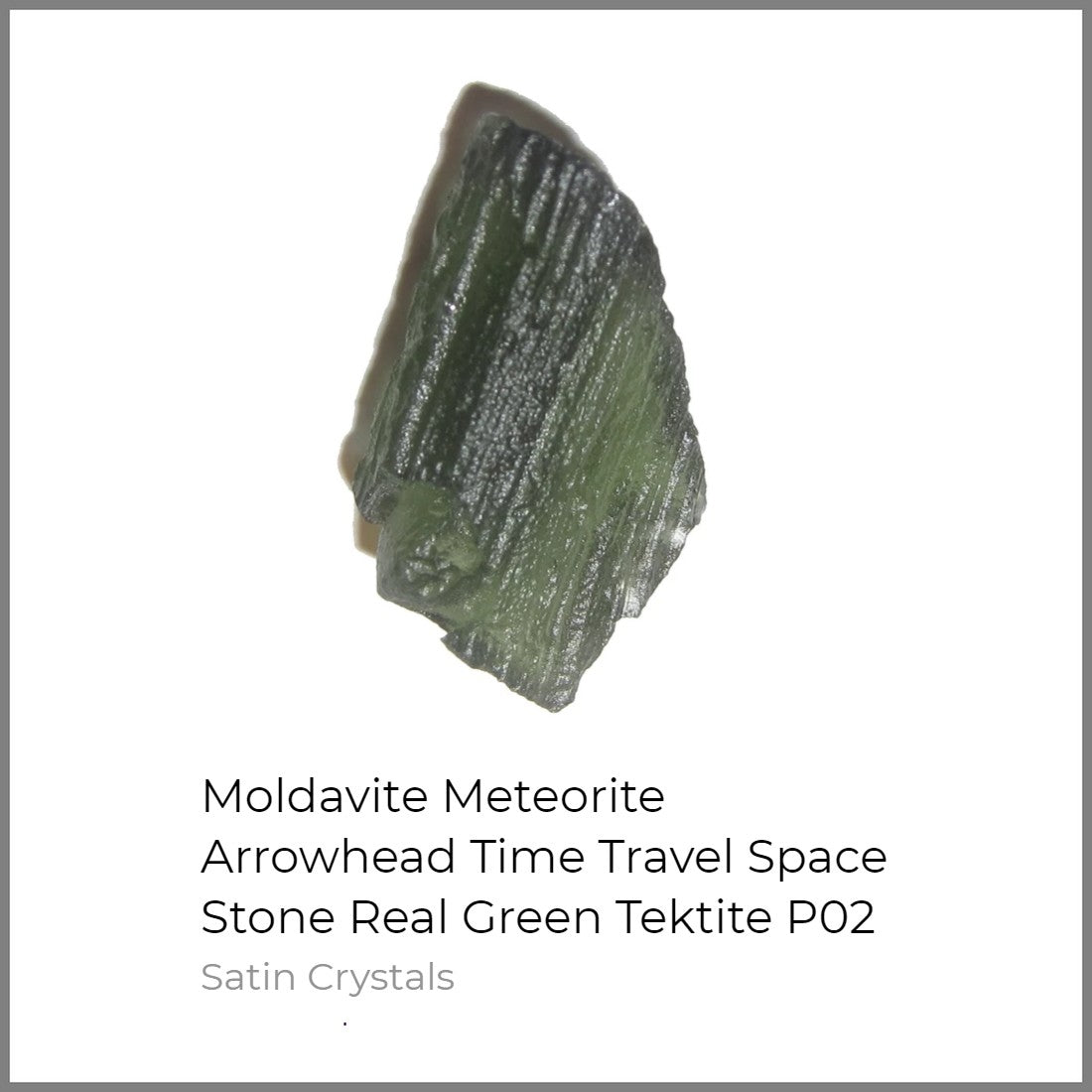 moldavite meteorite for sale