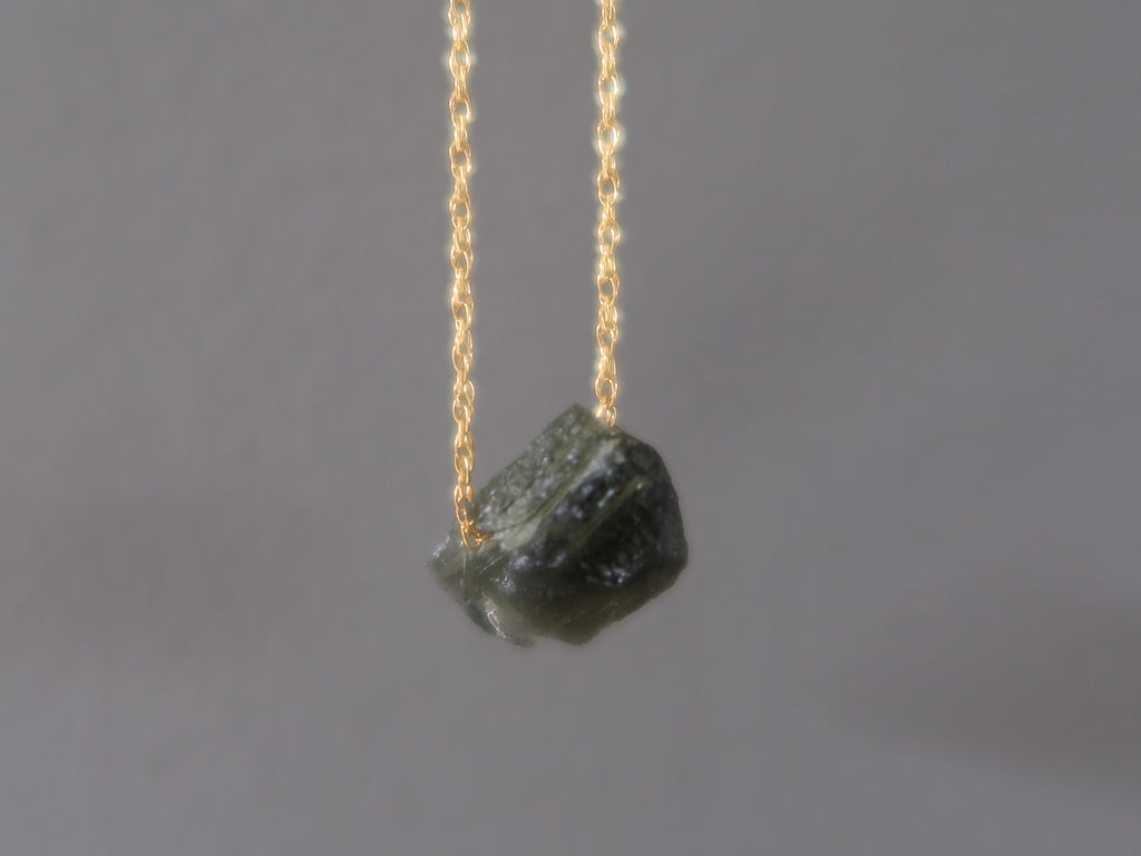 Moldavite Necklaces - Unique Gifts for Jewelry Lovers - Satin Crystals