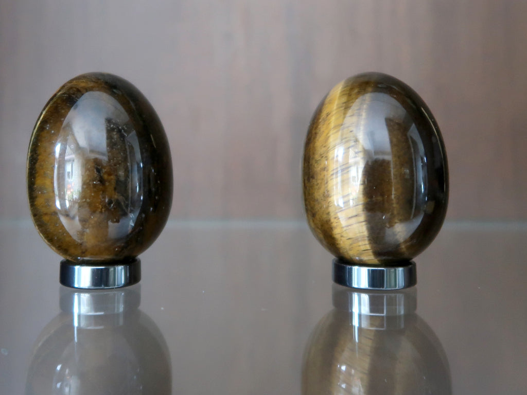 Tigers Eye Article - Eggs - Satin Crystals
