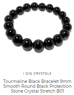 black tourmaline best crystal for protective energy by satin crystals are round and polished and natural